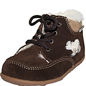 Ботинки зимние детские Richter с верхом из замши на натуральной овчине с каучуковой подошвой размер 19