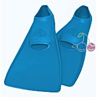 Ласты для бассейна резиновые детские размеры 21-22 синие ПРОПЕРКЭРРИ (ProperCarry)