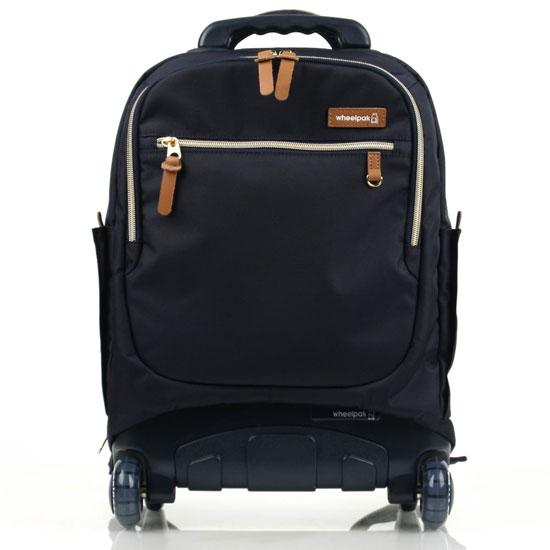 Школьный рюкзак на колесах - ранец Wheelpak Classic Navy - арт. WLP2201 (для 3-5 класса, 21 литр), - фото 1