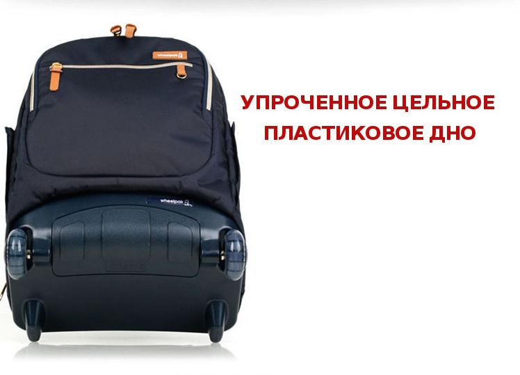 Школьный рюкзак на колесах - ранец Wheelpak Classic Navy - арт. WLP2201 (для 3-5 класса, 21 литр), - фото 20