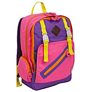 Школьный рюкзак – ранец JWORLD KIDS арт. BP-008K PINK с сумкой для обуви и пеналом