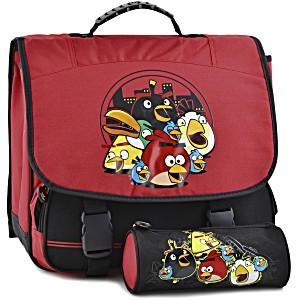 Школьный портфель Angry Birds + пенал