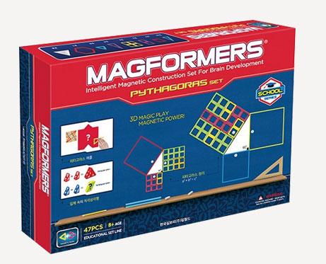 Магнитный конструктор Магформерс Пифагор 47 деталей артикул 63113, - фото 1