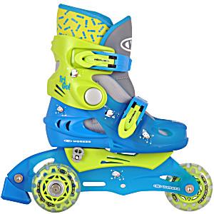 Детские трехколесные ролики WORKER TriGo зеленые