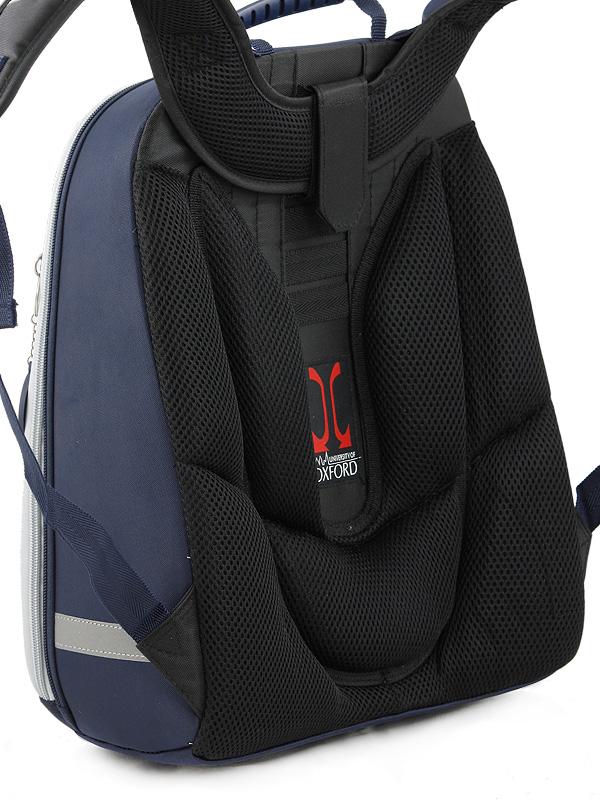 Школьный рюкзак OXFORD MIKE MAR 1008-161 синий + мешок, - фото 4