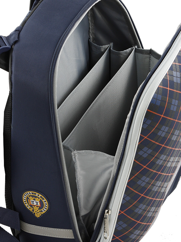 Школьный рюкзак OXFORD MIKE MAR 1008-161 синий + мешок, - фото 7