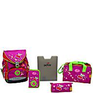 Школьный ранец DerDieDas ErgoFlex с наполнением Цветущая вишня