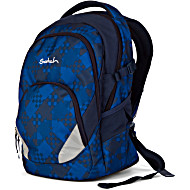 Рюкзак Ergobag Satch AIR цвет Blue Bits Новинка
