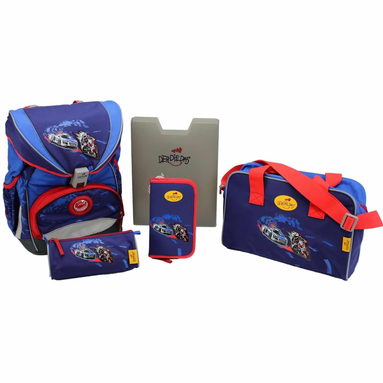 Школьный ранец DerDieDas ErgoFlex XL с наполнением Крутой Вираж, - фото 1