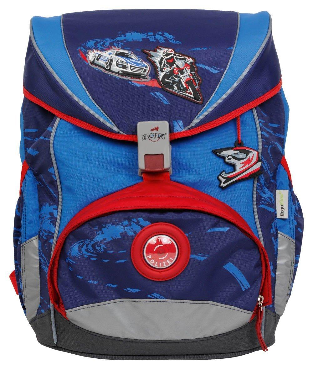 Школьный ранец DerDieDas ErgoFlex XL с наполнением Крутой Вираж, - фото 2