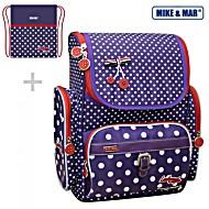 Школьный рюкзак Mike&Mar Майк Мар Вишня (фиолет) 1074-ММ-124 + мешок для обуви