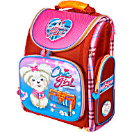 Школьный рюкзак - ранец HummingBird K98 Chic Girl с мешком для обуви