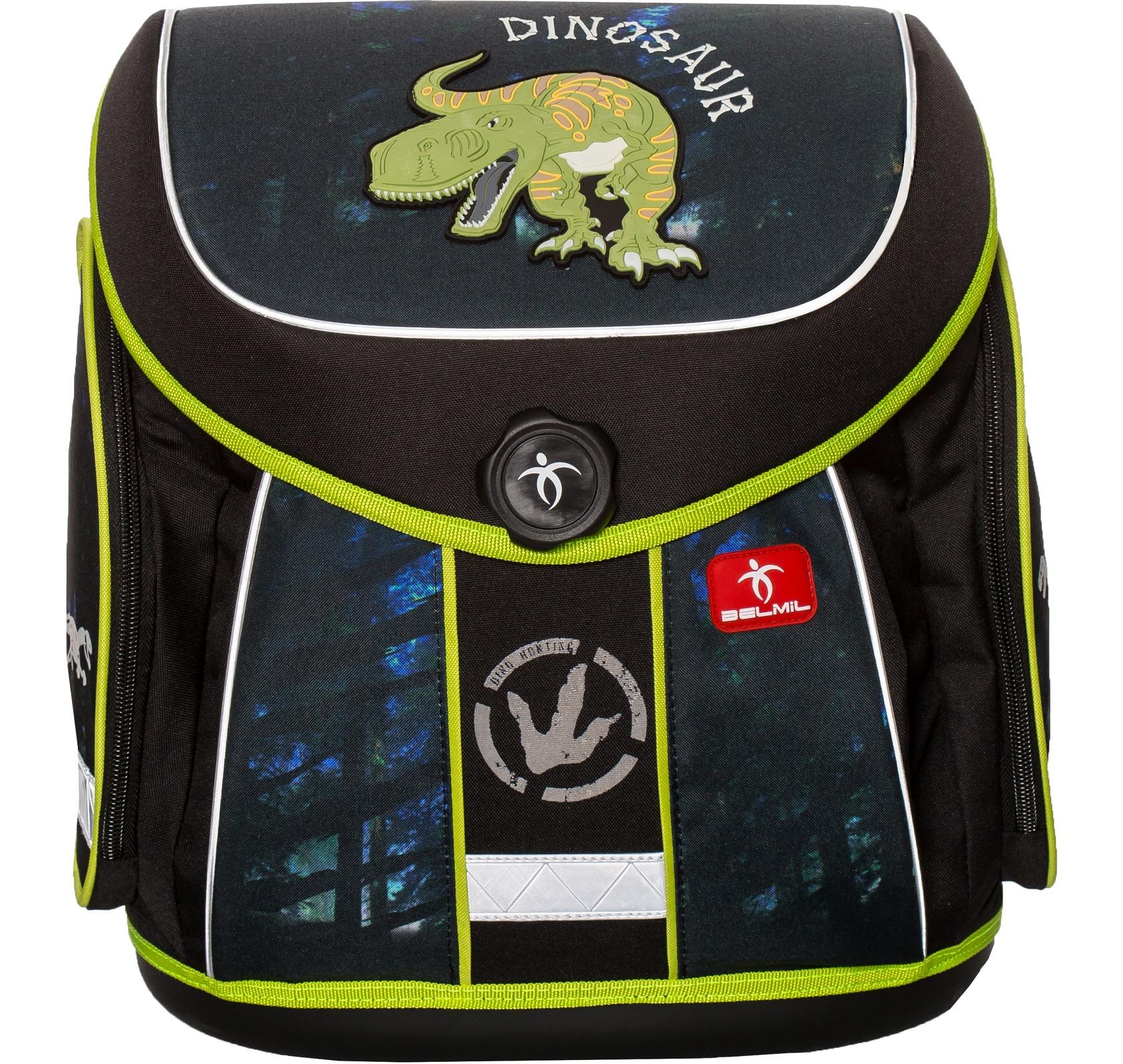 Ранец Belmil 405-35 Missy & Mister Dino + мешок для обуви, - фото 1
