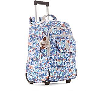 Рюкзак на колесах Kipling Sanaa PRT цвет бежевый