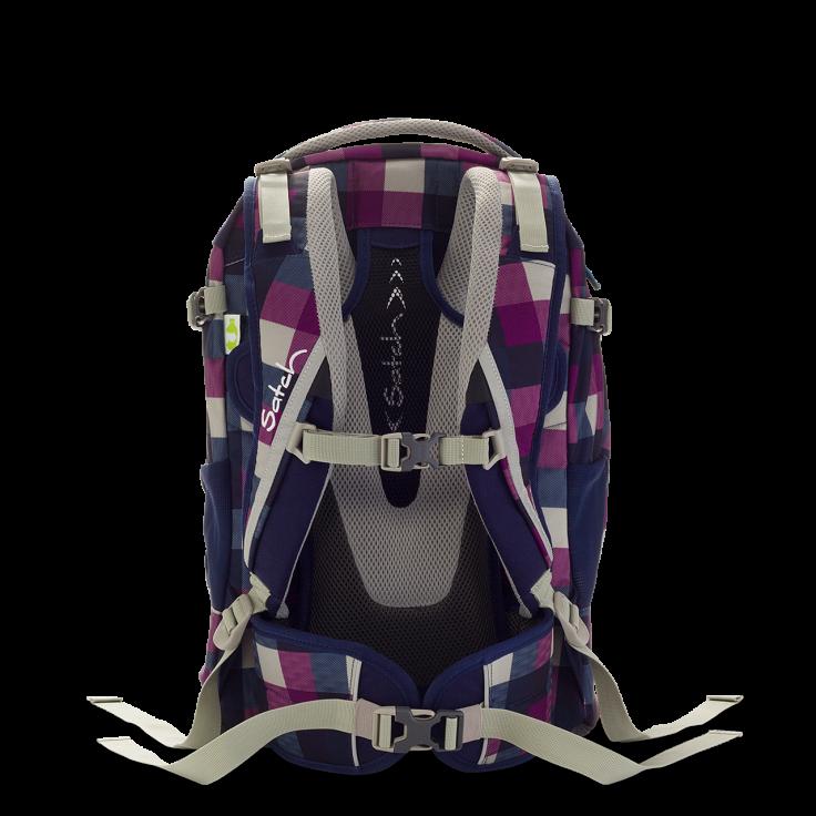 Satch Pack рюкзак для школьника цвет Berry Carry, - фото 3