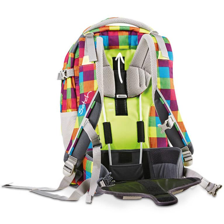 Satch Pack рюкзак для школьника цвет Flash Jumper, - фото 6