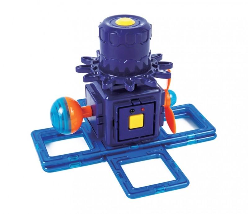Магнитный конструктор Magformers Power Gear Set 60 деталей артикул 63114 + тетради, - фото 12