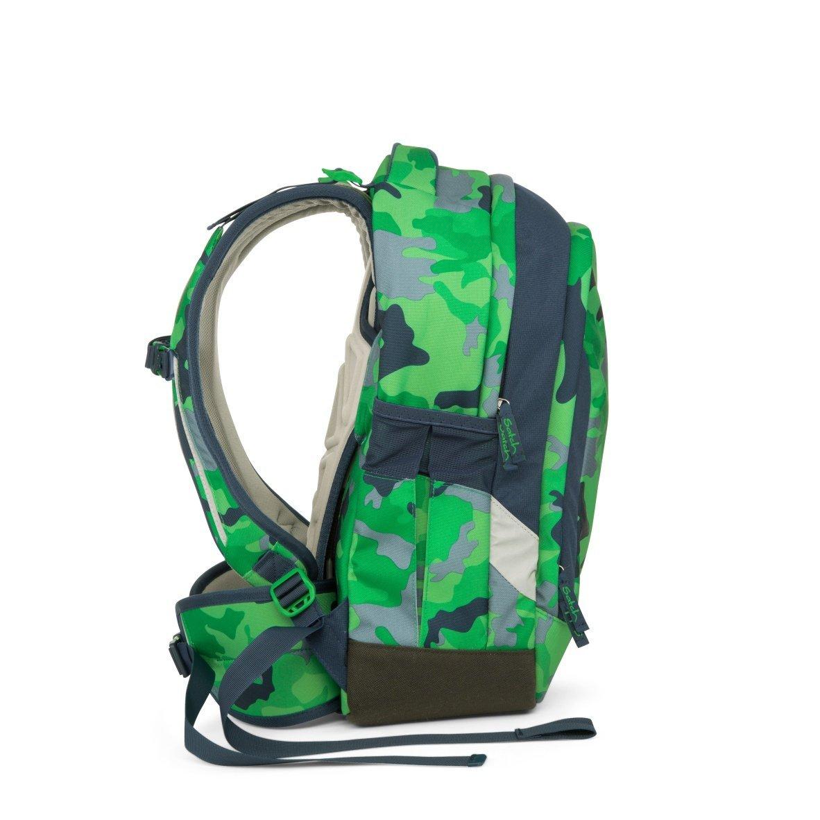 Рюкзак Ergobag Satch Sleek цвет Green Camou, - фото 7