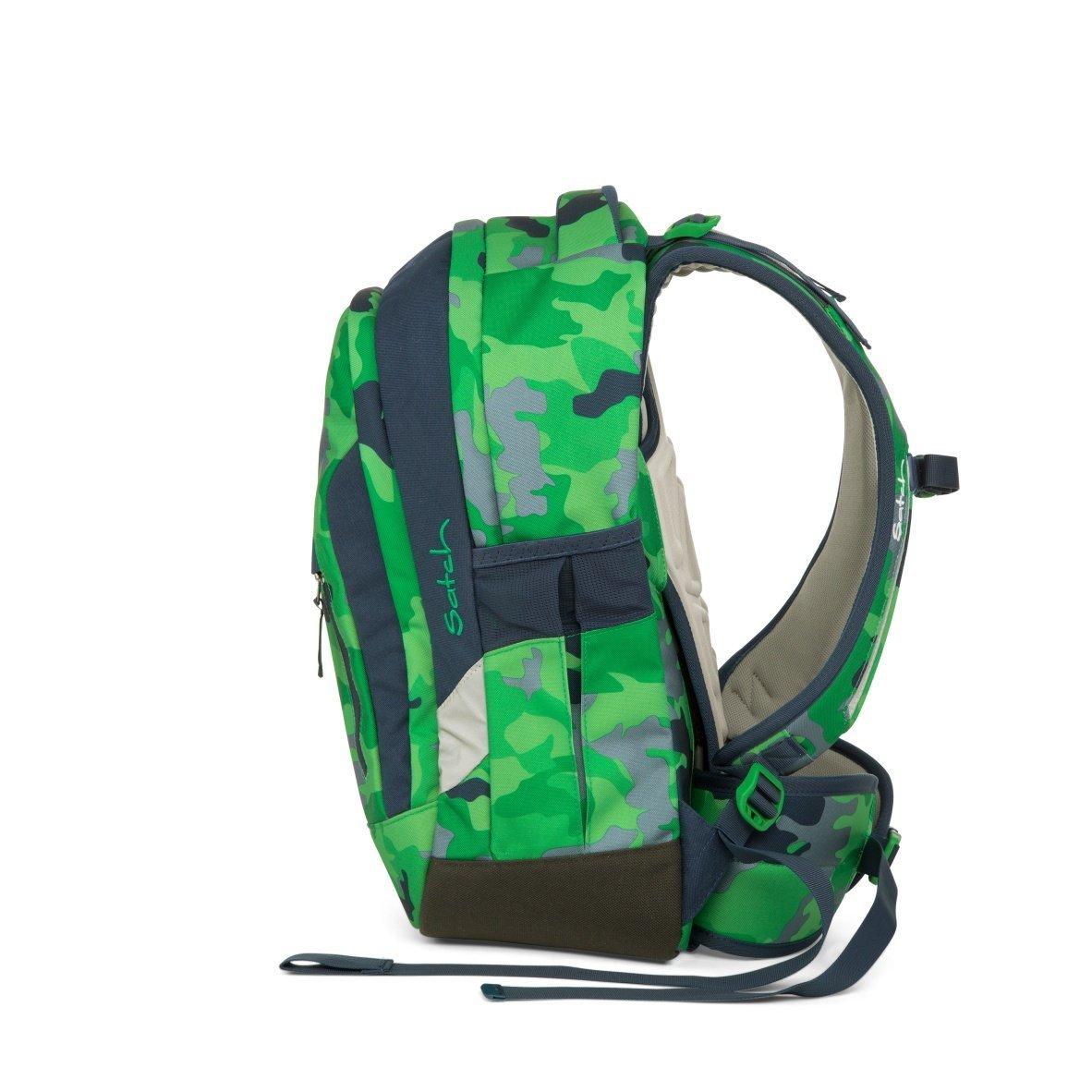 Рюкзак Ergobag Satch Sleek цвет Green Camou, - фото 3
