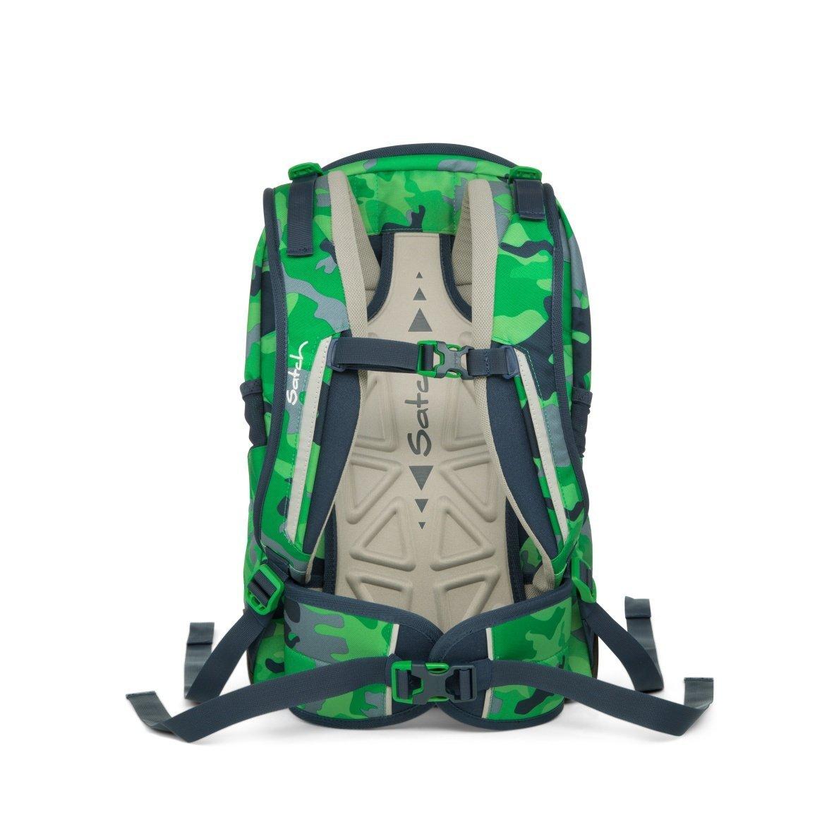 Рюкзак Ergobag Satch Sleek цвет Green Camou, - фото 5