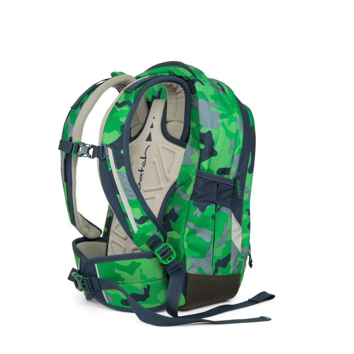 Рюкзак Ergobag Satch Sleek цвет Green Camou, - фото 6