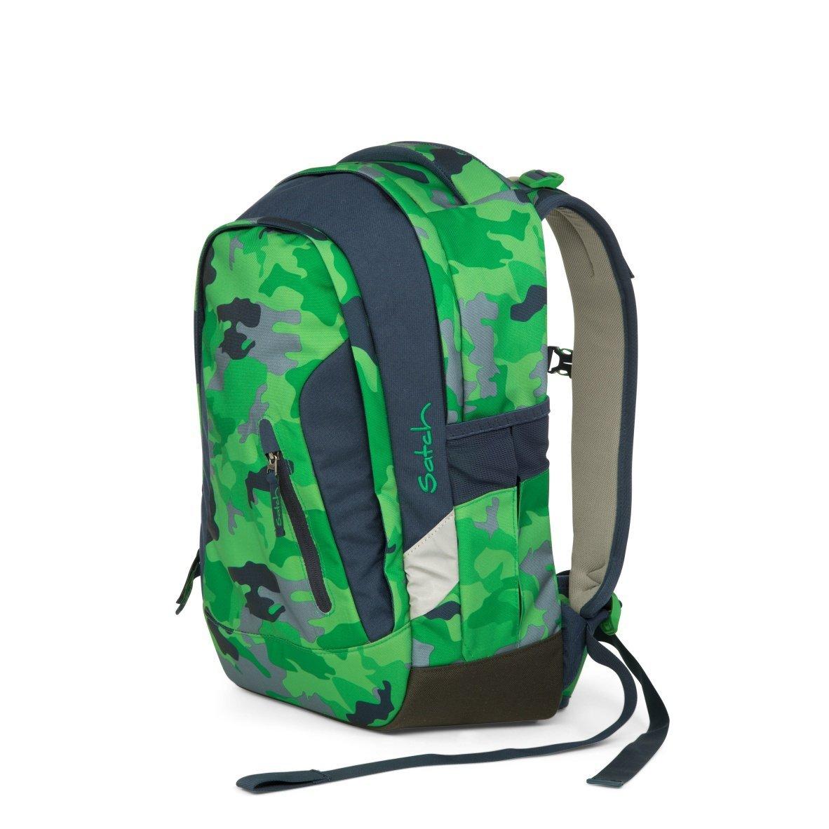 Рюкзак Ergobag Satch Sleek цвет Green Camou, - фото 1