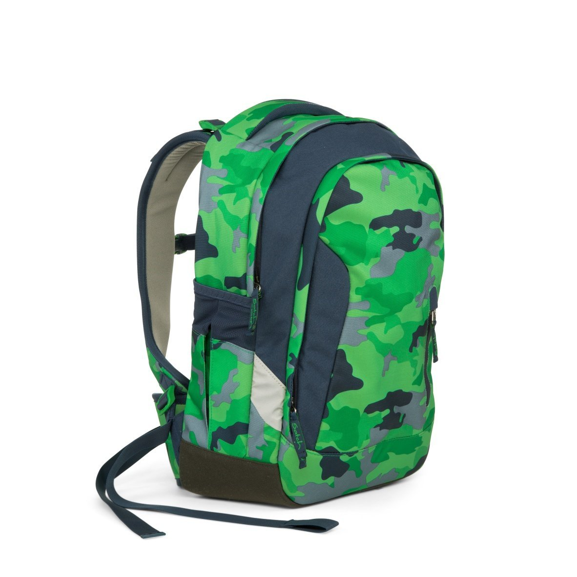 Рюкзак Ergobag Satch Sleek цвет Green Camou, - фото 8