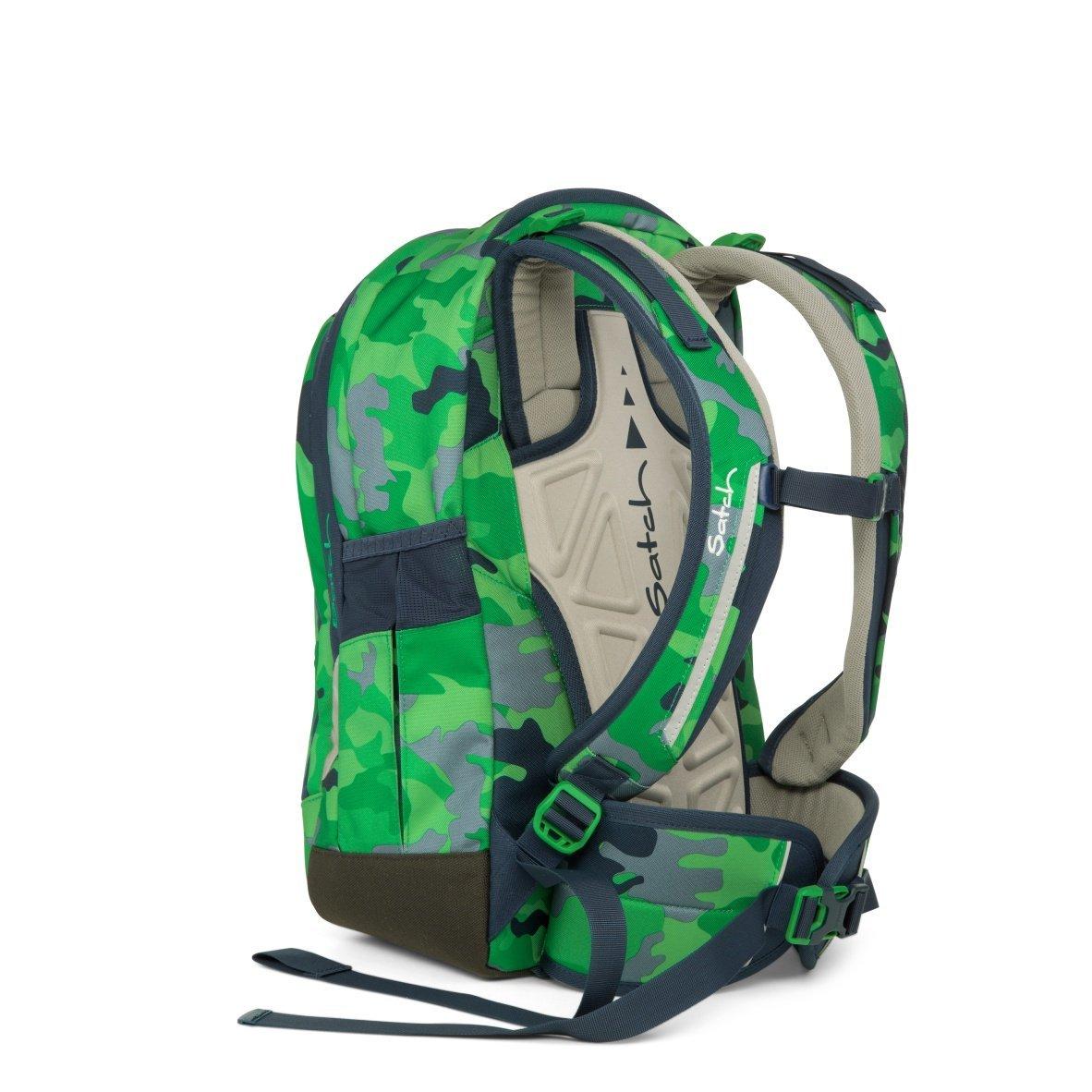 Рюкзак Ergobag Satch Sleek цвет Green Camou, - фото 4