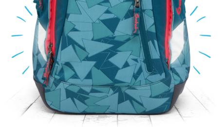 Рюкзак Ergobag Satch Sleek цвет Green Camou, - фото 10