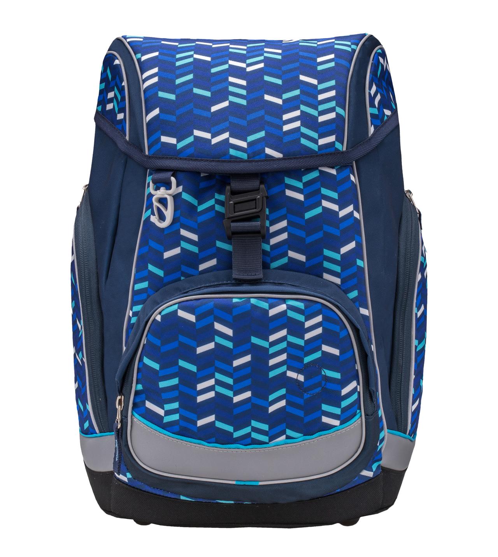 Ранец-рюкзак Belmil Comfy Pack 405-11/687 цвет Blue Mix + дождевик, - фото 2