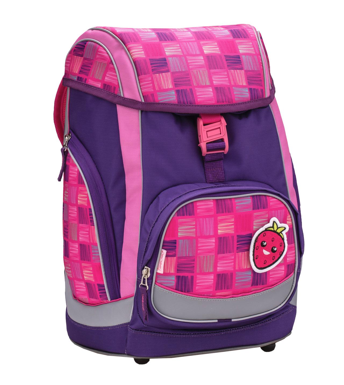 Ранец-рюкзак Belmil Comfy Pack 405-11/683 цвет Pink & Purple Harmony+ дождевик, - фото 1