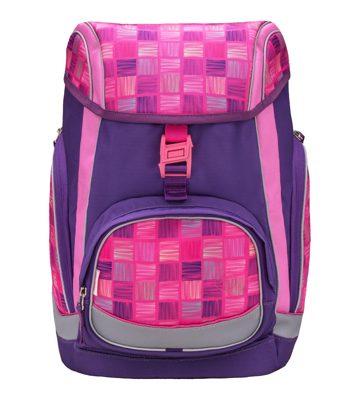 Ранец-рюкзак Belmil Comfy Pack 405-11/683 цвет Pink & Purple Harmony+ дождевик, - фото 2