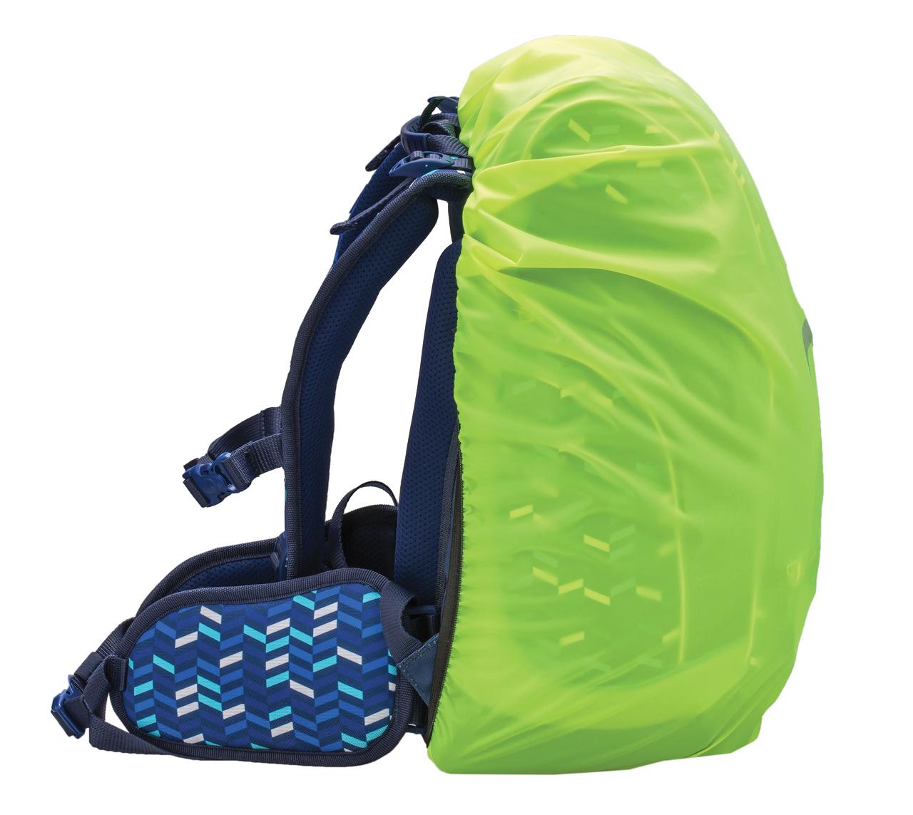 Ранец-рюкзак Belmil Comfy Pack 405-11/687 цвет Blue Mix + дождевик, - фото 12