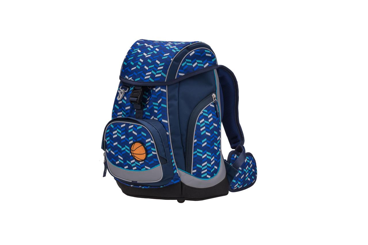 Ранец-рюкзак Belmil Comfy Pack 405-11/687 цвет Blue Mix + дождевик, - фото 6