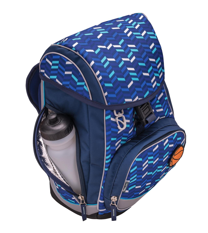 Ранец-рюкзак Belmil Comfy Pack 405-11/683 цвет Pink & Purple Harmony+ дождевик, - фото 8